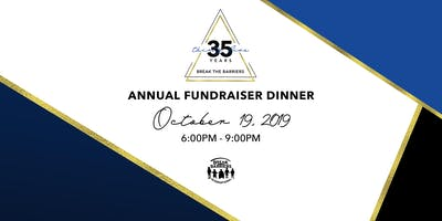 Break the Barriers 35th Annual Fundraising Dinner
