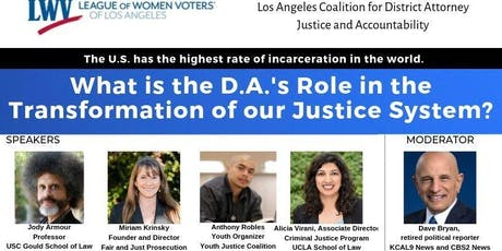 What is the D.A.'s Role in the Transformation of our Justice System? tickets