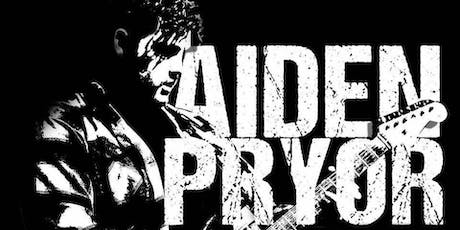 A night of Rock and Blues with the Aiden Pryor Band tickets
