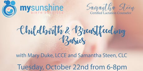 Free Childbirth and Breastfeeding Basics tickets