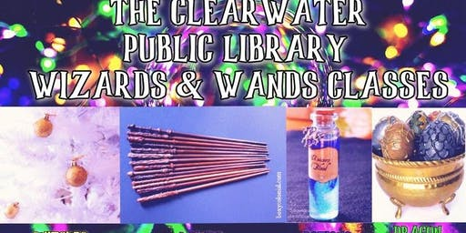 Wizards & Wands Classes at Grindhaus with the Clearwater Library