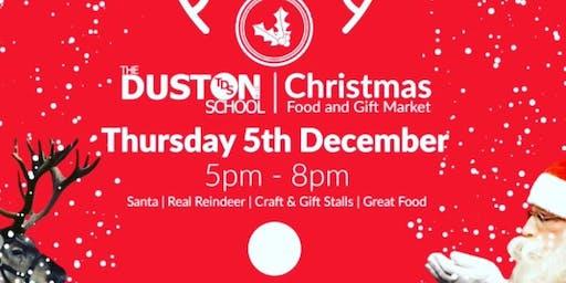 Christmas food and Gift Market