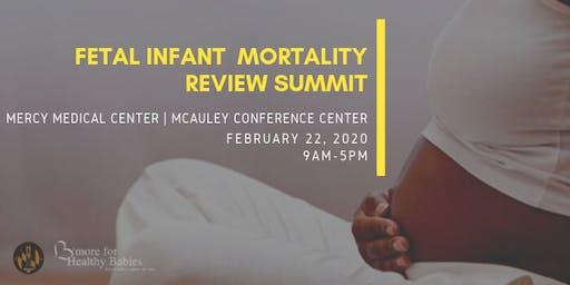 Fetal Infant Mortality Review Summit