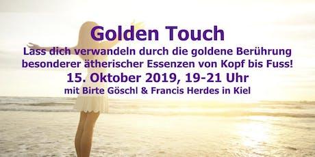Golden Touch - Ätherische Öle von Kopf bis Fuß Tickets
