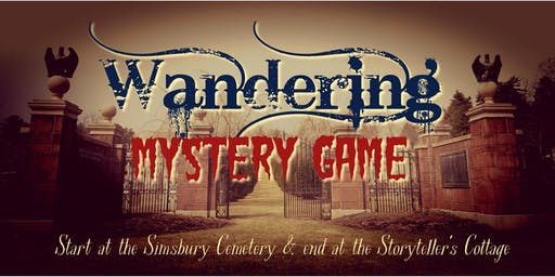 Haunted Graveyard: A Wandering Mystery Game