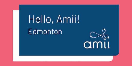 Hello Amii! in Edmonton