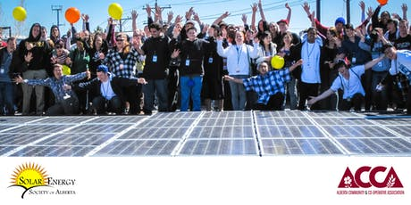 Alberta Communities Invest in Solar tickets
