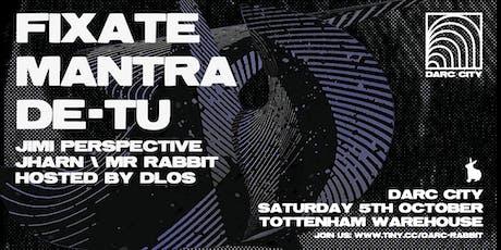 White Rabbit presents: Darc City tickets