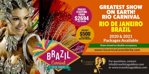 Rio de Janeiro Carnival - Greatest Show on Earth!