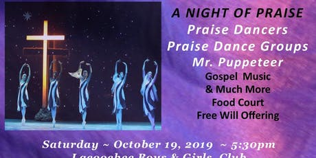 PRAISE  the NIGHT AWAY -Ladies of Elegance Silver Ministry tickets