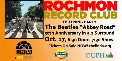 "Rochmon Record Club | The Beatles  ""Abbey Road"" Presented in 5.1 Surround"