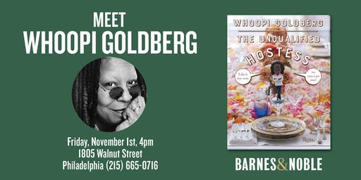 Meet Whoopi Goldberg at Barnes & Noble Rittenhouse Square