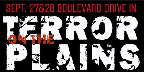 TERROR ON THE PLAINS - Weekend Pass - Sep 27 & 28 tickets