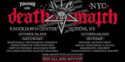 event image Thrasher x Vans Death Match NYC