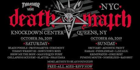 Thrasher x Vans Death Match NYC tickets