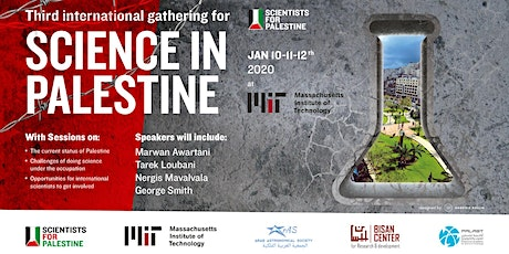 Third International Meeting for Science in Palestine tickets