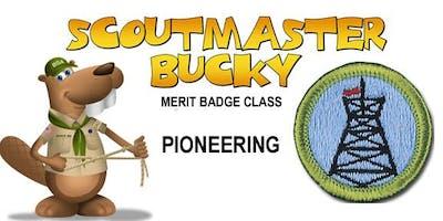 Pioneering Merit Badge - 2020-02-15 - Saturday PM - Scouts BSA