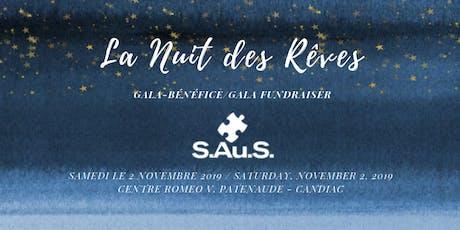 Gala-Bénéfice 2019 -  S.Au.S tickets