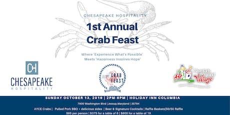 1st Annual Chesapeake Hospitality Crab Feast tickets