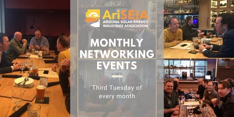 October AriSEIA Networking Event tickets