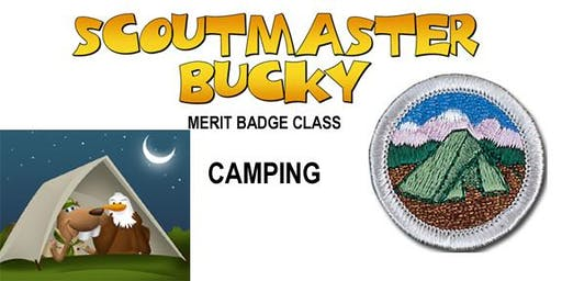 Camping Merit Badge - 2020-01-04 - Saturday AM - Scouts BSA