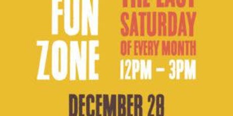 Free December Kids Fun Zone in Anaheim tickets