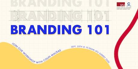 Branding 101 tickets