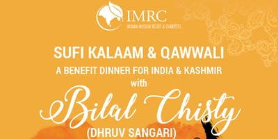 India & Kashmir Benefit Dinner - Sufi Kalaam & Qawwali with Dhruv Sangari