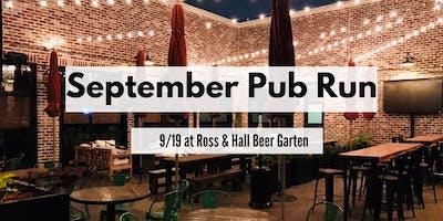 September Pub Run | Ross & Hall