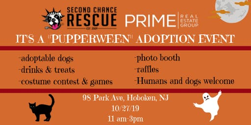 """Pupperween"" Fundraiser for NY Second Chance Rescue"