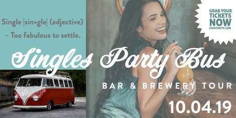 Singles Party Bus tickets