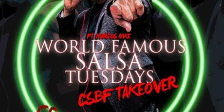 CSBF Takeover Salsa Tuesday @ Alhambra Palace tickets