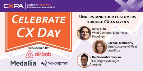 Celebrate CX Day at Airbnb tickets