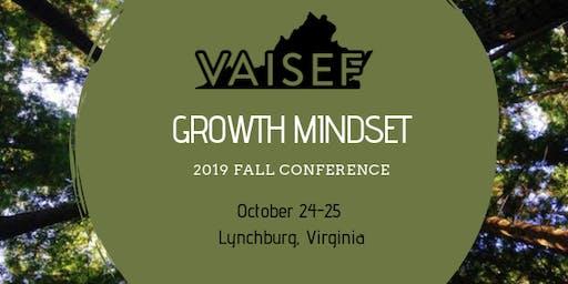 VAISEF Fall Conference 2019 - Lynchburg, VA