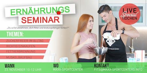 MaXX-Sportcenter || Ernährungsseminar || 23.11.