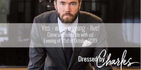 DressedbyCharles - Go-Live Event Tickets