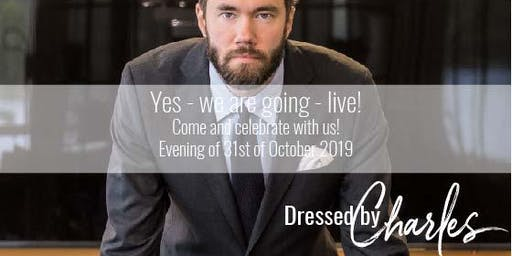DressedbyCharles - Go-Live Event