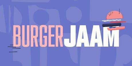 burger JAAM entradas