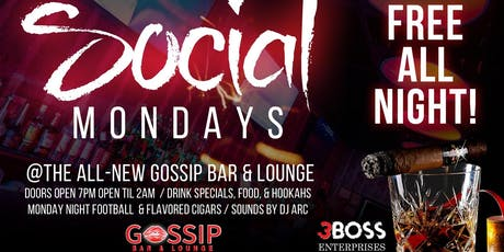 Social Mondays tickets