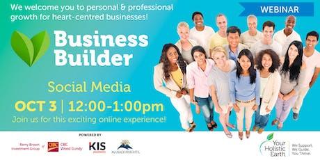 YHE Business Builder - Online Noon tickets