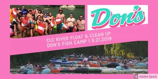 CLC River Float & Clean Up