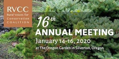 RVCC 16th Annual Meeting