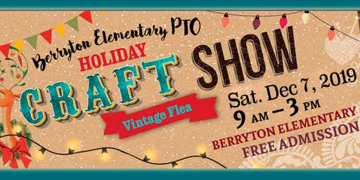Berryton Elementary School Holiday Craft Show - Vintage Flea