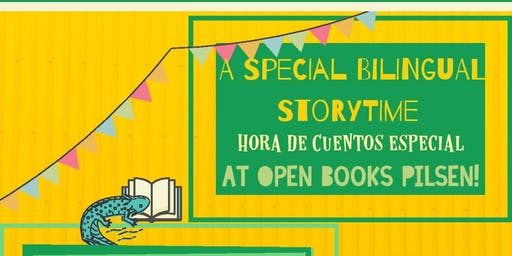 Special September Bilingual Storytime at Open Books Pilsen