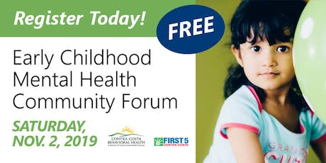 Early Childhood Mental Health Community Forum tickets