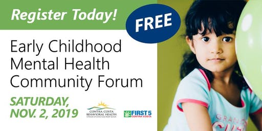 Early Childhood Mental Health Community Forum