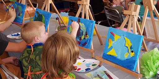 Halloween Painting Party @ The Works! (Ages 4-9)