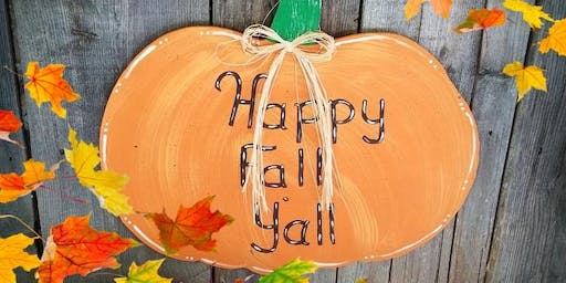 Pumpkin Fall Craft Class with Buddy Boy Winery and Vineyards