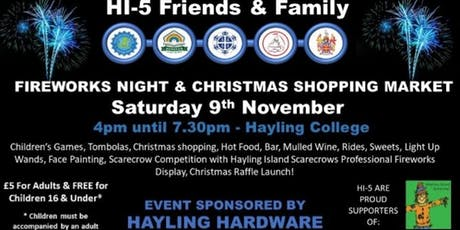 HI-5 Fireworks and Christmas Shopping tickets