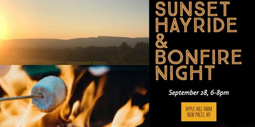 Sunset Hayride & Bonfire Night